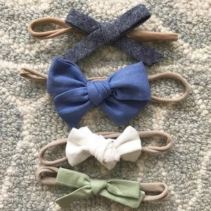Baby headband bow bundle